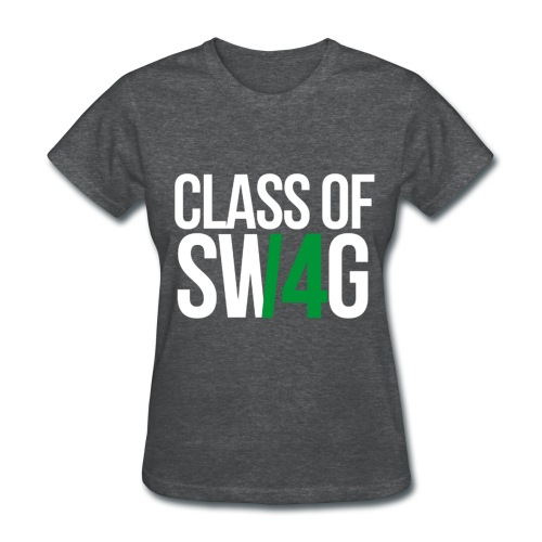 CLASS OF SWAG (14) Green no band - Women's T-Shirt