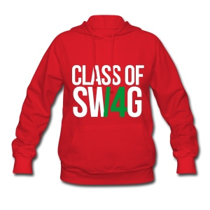 CLASS OF SWAG (14) Green no band - Women's Hoodie