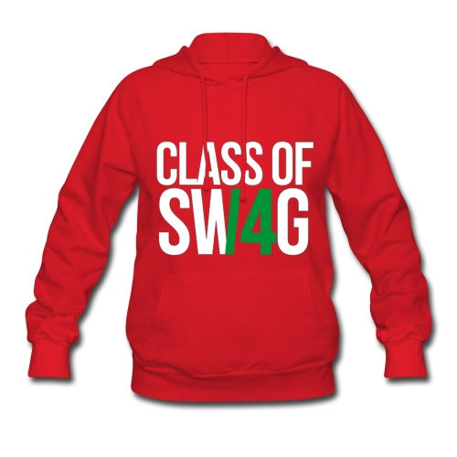 CLASS OF SWAG (14) Green no band - Women's Hoodie