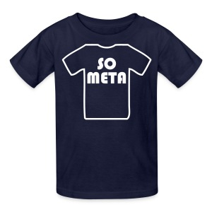 Meta Shirt on a Shirt - Kids' T-Shirt