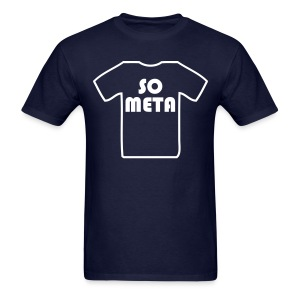 Meta Shirt on a Shirt - Men's T-Shirt