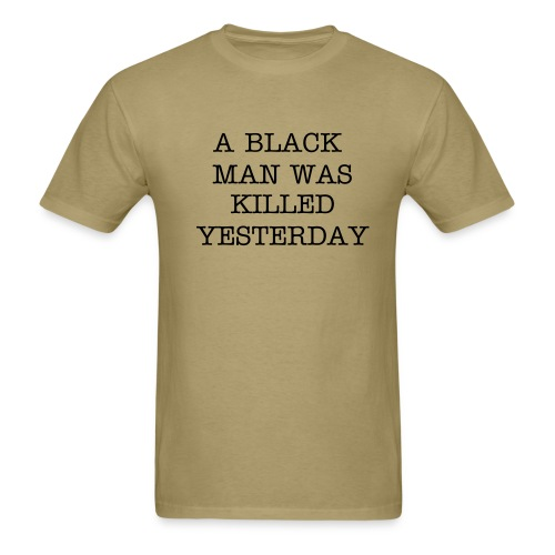 BLACK MAN 2 - Men's T-Shirt