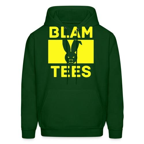 BlamTees Fashion - Boxed In - Evil Rabbit Logo - Mens Hoodie - Men's Hoodie