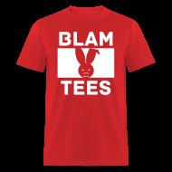 T-Shirts ~ Men's T-Shirt ~ BlamTees Fashion - Boxed In - Evil Rabbit Logo - Mens T-Shirt