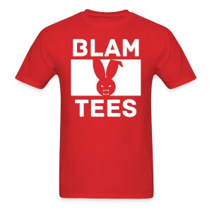 BlamTees Fashion - Boxed In - Evil Rabbit Logo - Mens T-Shirt - Men's T-Shirt