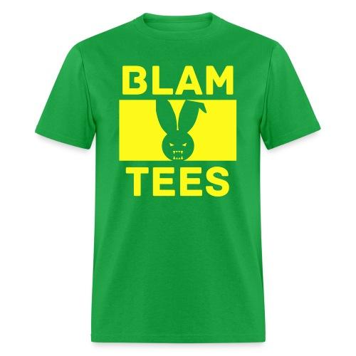 BlamTees Fashion - Boxed In - Evil Rabbit Logo - Mens T-Shirt - Men's T-Shirt