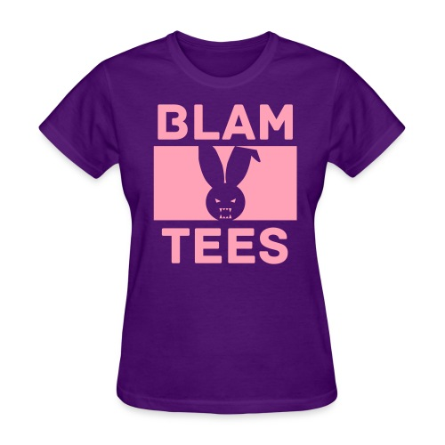 BlamTees Fashion - Boxed In - Evil Rabbit Logo - Womens Hoodie - Women's T-Shirt