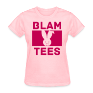 T-Shirts ~ Women's T-Shirt ~ BlamTees Fashion - Boxed In - Evil Rabbit Logo - Womens Hoodie