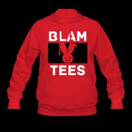 Hoodies ~ Women's Hoodie ~ BlamTees Fashion - Boxed In - Evil Rabbit Logo - Womens Hoodie