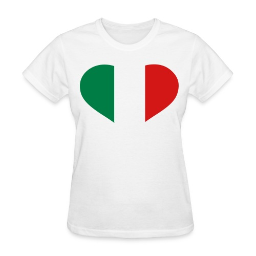 Italy Love - Womans T-Shirt - Women's T-Shirt
