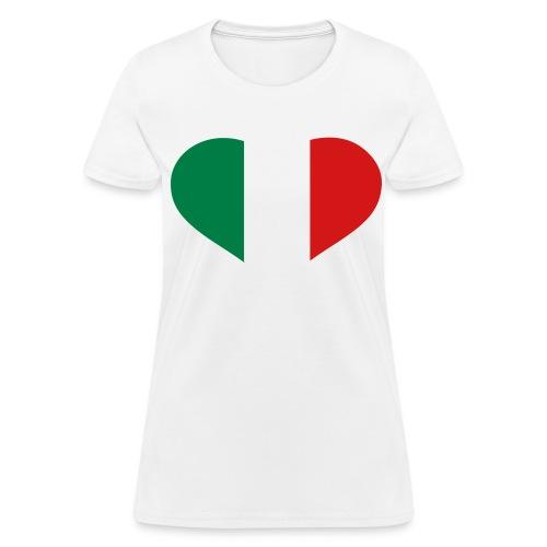 Italy Love - Womans T-Shirt - Women's T-Shirt