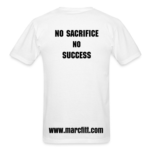 T-shirt no sacrifice, no success - Men's T-Shirt