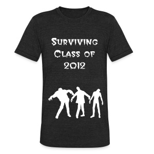 Survivor - Unisex Tri-Blend T-Shirt by American Apparel