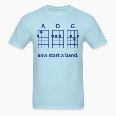 ADG: Now Start a Band (Blue) - Men's