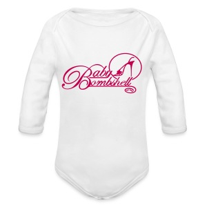 Baby Bombshell Long Sleeved   - Long Sleeve Baby Bodysuit