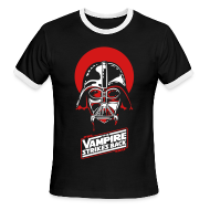 T-Shirts ~ Men's Ringer T-Shirt by American Apparel ~ the Vampire Strikes Back - Men's Ringer