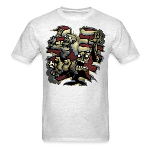 Choice Of Zombies: Ribcage - color (M's) - Men's T-Shirt