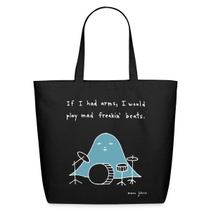 If I had arms - tote bag - Eco-Friendly Cotton Tote