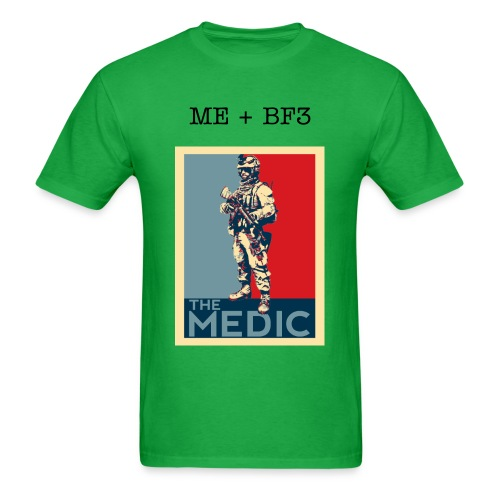 Me+BF3 Medic T-shirt Colors - Men's T-Shirt