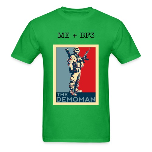 Me+BF3 Demolitions man T-shirt Colors - Men's T-Shirt