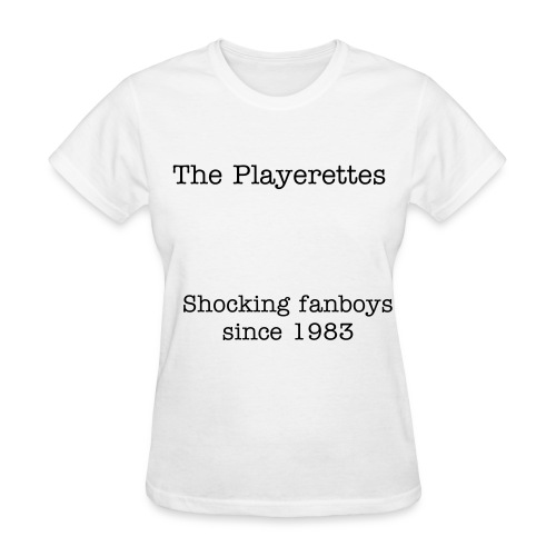 The Playerettes' Women's Shirt - Women's T-Shirt