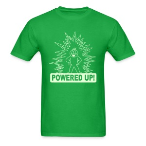 Powered Up Raver t-shirt Glow in the dark - Men's T-Shirt