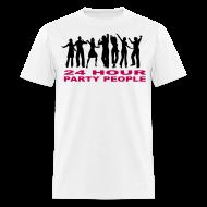 T-Shirts ~ Men's T-Shirt ~ 24 hour party people rave t-shirt