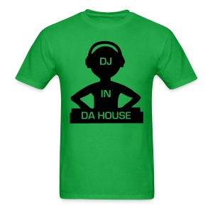 DJ in Da House rave t-shirt - Men's T-Shirt