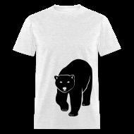 T-Shirts ~ Men's T-Shirt ~ animal t-shirt polar bear ice black white penguin knut climate change stop global warming