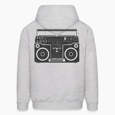 Boom Box HD DESIGN Hoodies