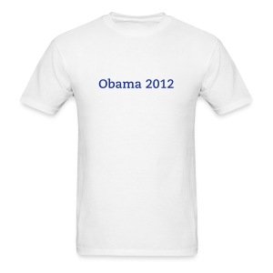 Obama's RACE - Men's T-Shirt