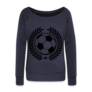 Soccer - Women's Wideneck Sweatshirt