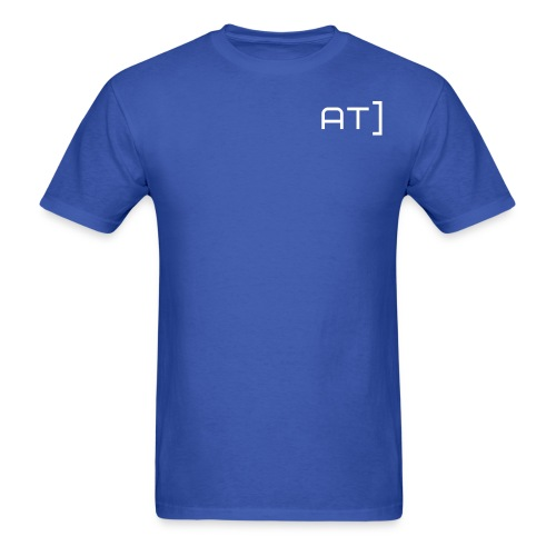 AT] Only BLUE - Men's T-Shirt