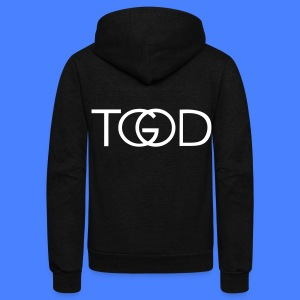 TGOD - stayflyclothing.com Zip Hoodies/Jackets - Unisex Fleece Zip Hoodie by American Apparel