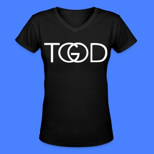 TGOD Women's T-Shirts - stayflyclothing.com - Women's V-Neck T-Shirt