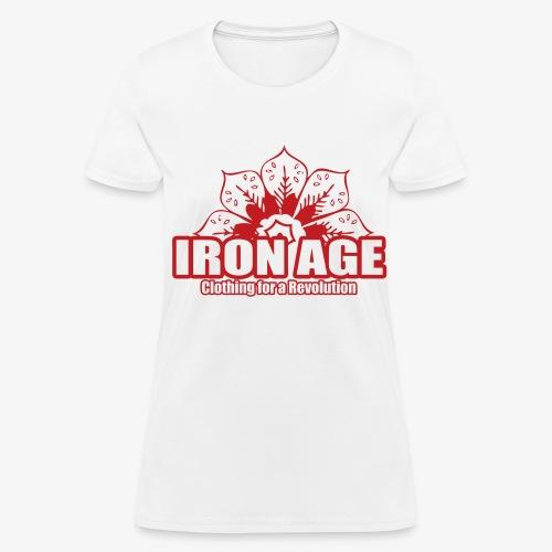 Women's T-Shirt - urban,t-shirt,sweater,swag,street,skater,skate,shirt,revoutionary,revolution,rap,iron age,hoodie,hip hop,ganster,gangsta,fuck the system,fuck it,fresh,dope,dgaf,clothing,clothes,IDGAF