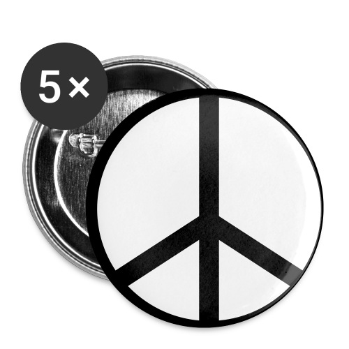 Peace Pins - Small Buttons