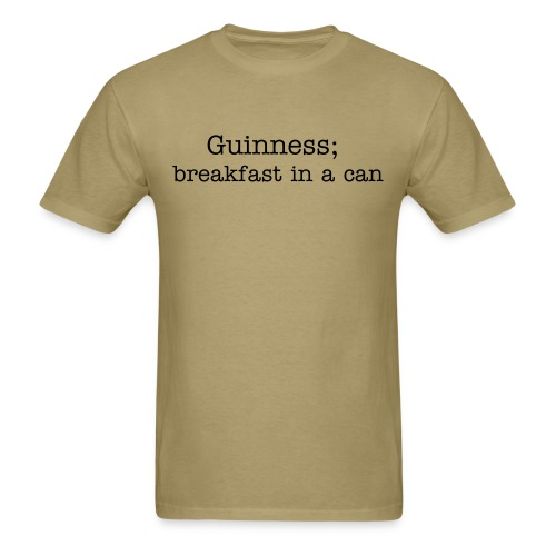 can-o-breakfast - Men's T-Shirt
