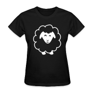 T-Shirts ~ Women's T-Shirt ~ Black Sheep