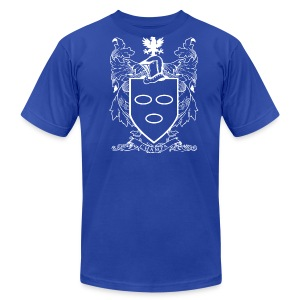 Champa Family Crest - Men's T-Shirt by American Apparel
