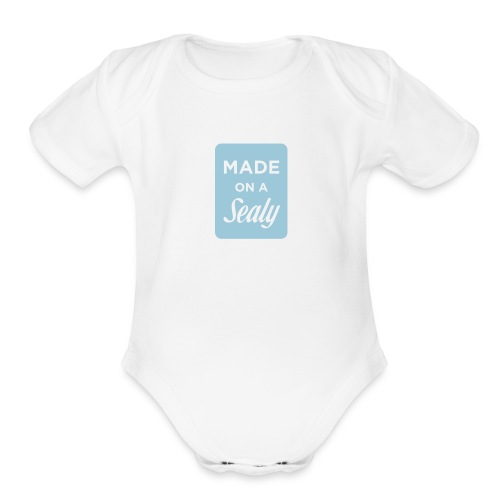 Made on a Sealy - Organic Short Sleeve Baby Bodysuit