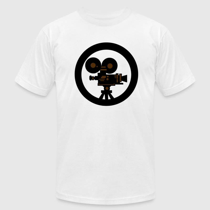 Movie camera T-Shirts - Men's T-Shirt by American Apparel