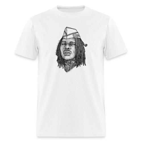 Waka Burger Chestpiece - Men's T-Shirt