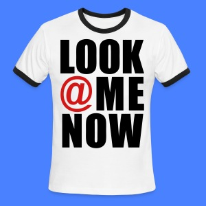 Look At Me Now - stayflyclothing.com T-Shirts - Men's Ringer T-Shirt