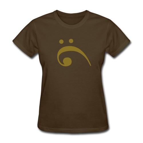 VeDelop Loves Music T-Shirt (F) - Women's T-Shirt