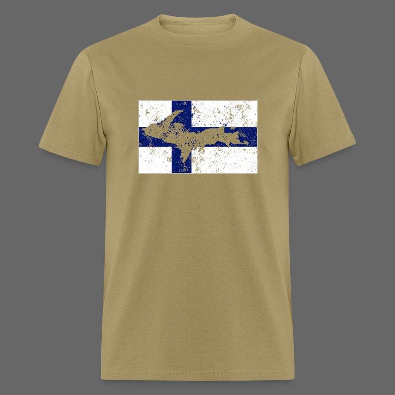 Finnish Flag U.P. - Men's T-Shirt