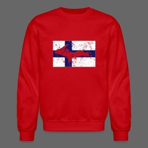 Finnish Flag U.P. - Crewneck Sweatshirt
