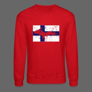 Finnish Flag U.P. - Crewneck Sweatshirt
