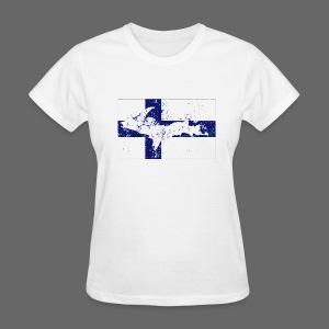 Finnish Flag U.P. - Women's T-Shirt
