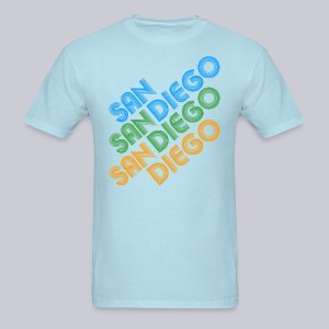 San Diego Cubed - Men's T-Shirt